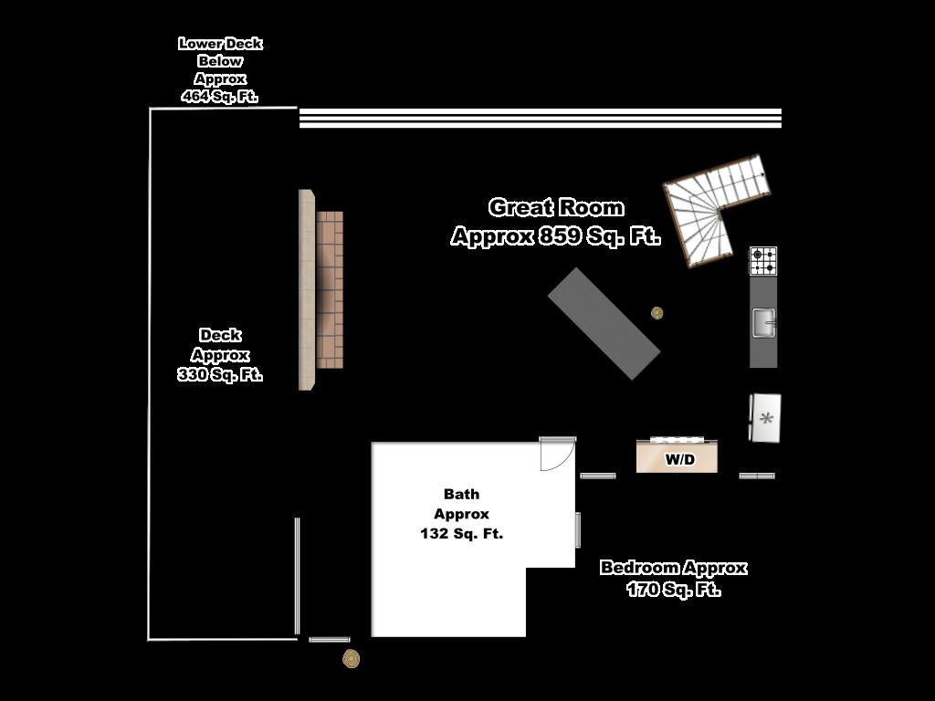 Whitewater Main Floor Floorplan